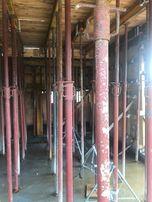 Szalunki-stemple budowlane metalowe regulowane (podpory)