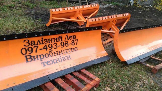 Отвал снегоуборочный + бульдозерный для трактора МТЗ-80 / 82, МТЗ-892 Черкассы - изображение 7