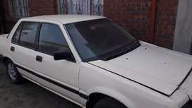 Honda ballade 130i needs little attention papers in order road worthy