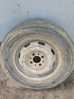 ВАЗ колесо шина диск в сборе 155\87-13