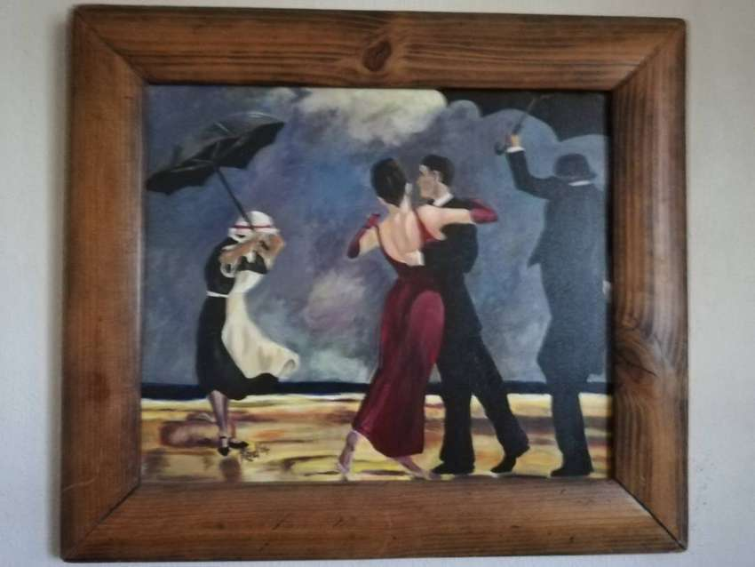 Dancing Butler oil painting 0