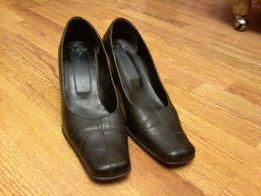 Кожаные туфли, размер 38-38,5