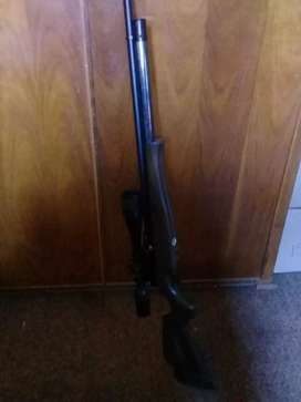 PCP Air Rifle with loading tank