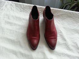 Туфли ботинки ботильены NORD кожа 39