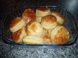 Freshly baked Scoons