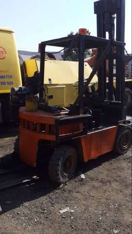 Two 3 ton forklifts for sale