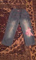 джинсы на девочку 3-5 лет