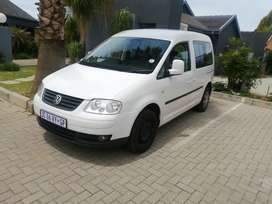 Caddy 1.9 life crew bus 7 seater