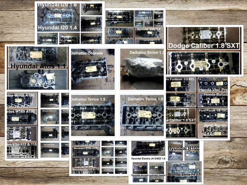 Cylinder heads for sale for most vehicle make and models 0