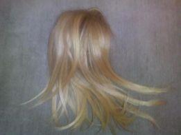 Шиньон из натуральных светлых волос