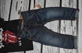Nowe spodnie KappAhl rozmiar 98