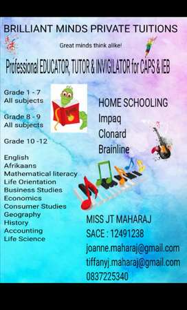 Brilliant Minds Private Tuitions