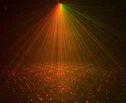 American DJ Galaxian 3D laser zielony, czerwony