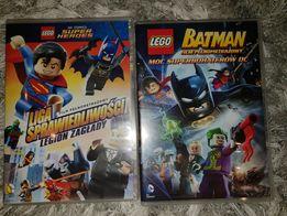 Liga Sprawiedliwości + Batman Moc Superbohaterów - 2 FILMY DVD