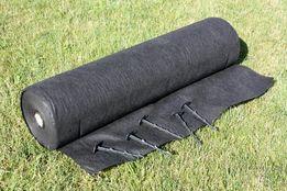Agrowłóknina 50g czarna 1,6x100m + inne wymiary i kolory POLSKA