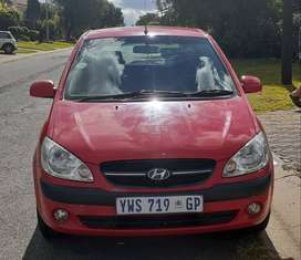 Hyundai Getz 1.4 HS Manual - Red