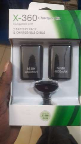 Brand new generic Xbox360 play and charge kit
