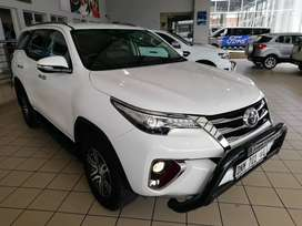 2016 TOYOTA 2.8GD-6 FORTUNER AUTO WITH 41000KM SPOTLESS