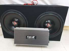 """Ice Power Subs 15"""" With 12000w Monoblock"""