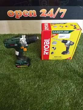 Ryobi Rechargeable Drill with charger in box