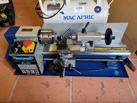 MAC AFRIC 180 mm Variable Speed Mini Bench Lathe with Autofeeder