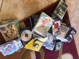 Assortment of PS2 and PSP games