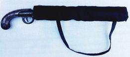 Новый зонт с пистолетной ручкой