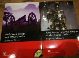 Owl Creek Bridge oraz King Arthur książki w języku angielskim