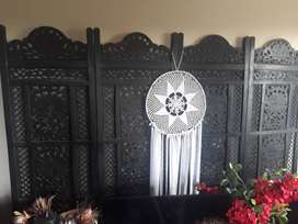 Handcrafted screen / room divider