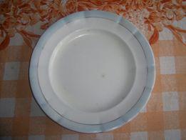 Тарелка, блюдо, герб Кузнецов. Диаметр 22 см