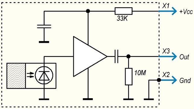 Датчик радиации для дозиметров, спектрометров, Ардуино. (микротоковый) Киев - изображение 5