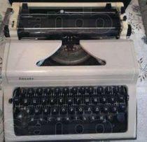 """Печатная машинка """"Любава"""""""