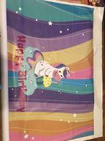Баннер на день рождение , фотозона, единорог