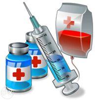 Медицинские услуги.Капельницы и уколы на дому