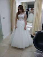 Suknia ślubna Sharimall, rozmiar 38