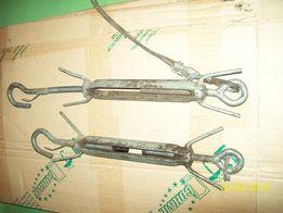 Талреп-винтовая стяжка-натяжка,длинна 40 см,кольцо-крючёк.