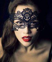 Wieczór panieński maska koronkowa