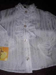 Piękna nowa bluzeczka na święta roz. 74