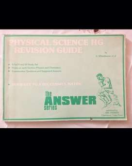 Revision Guide Physics Chemistry Gr 11 & 12