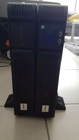 3kva/2.4kw ups plus battery pack