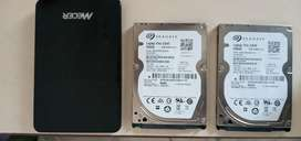 2 SEGATE HARD DRIVE FOR SALE