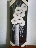 reprodukcja z kwiatami