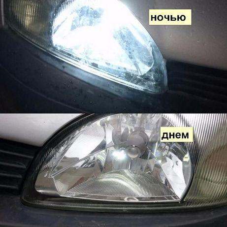 Габаритные огни T10 LED лампа линза светодиодная Дневные ходовые огни Кривой Рог - изображение 6