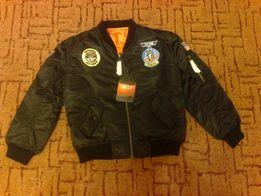 детская куртка МА-1 Пилот