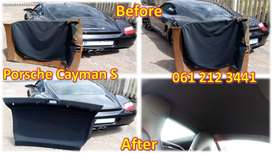 Is your car roof-lining material sagging and looking untidy?