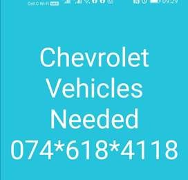 #Chev vehicles in urgent need