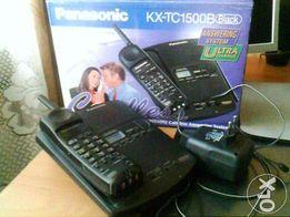 Telefon stacjonarny bezprzew. Panasonic z aut. sekret.