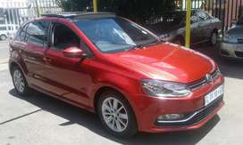 2016 polo 6tsi 1.2 manual sunroof leather interior