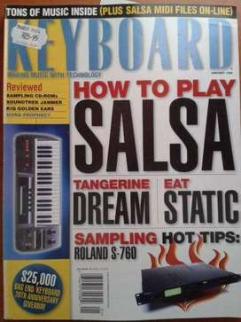 Music Maker - Keyboard - Magazines all for R50.