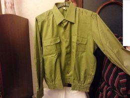 Рубашка форменная, размер ворота- 42, олива